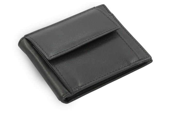 Černá pánská kožená peněženka Parker