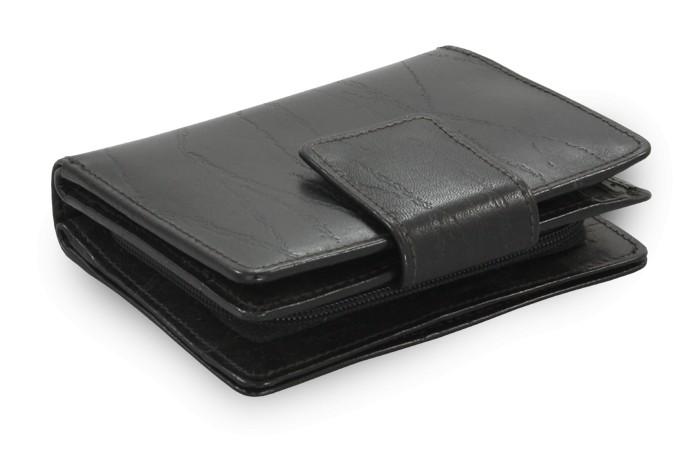 Černá dámská kožená peněženka Brielle