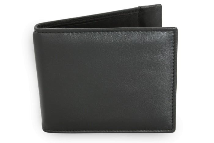 Černá pánská kožená peněženka Chasen