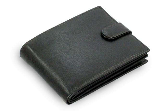 Černá pánská kožená peněženka Jace