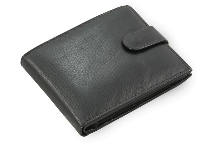 Černá pánská kožená peněženka Axel