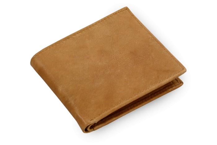 Světle hnědá pánská kožená peněženka Abraham