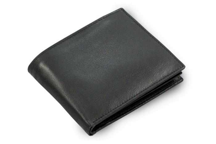 Černá pánská kožená peněženka Reese