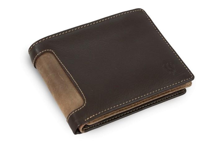 Hnědá pánská kožená peněženka Emerson