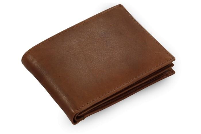 Tmavě hnědá pánská kožená peněženka Steven