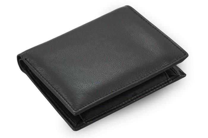 Černá pánská kožená peněženka Charlie