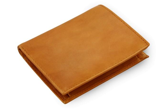Světle hnědá pánská kožená peněženka Emmanuel