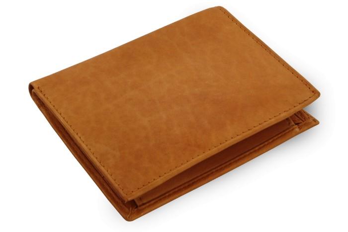 Světle hnědá pánská kožená peněženka Emmett