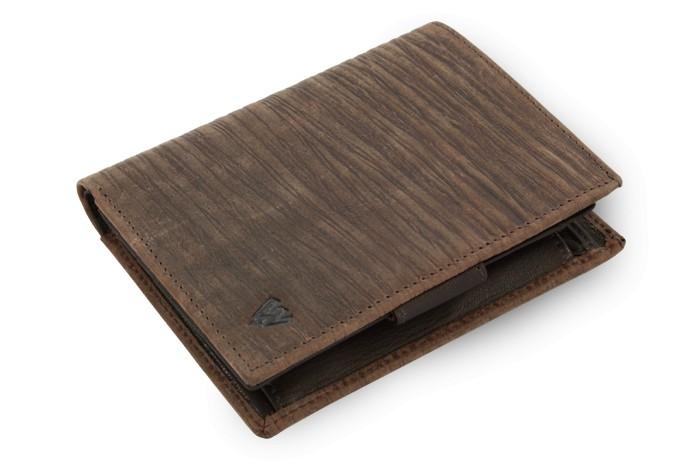 Hnědá pánská kožená peněženka Martien
