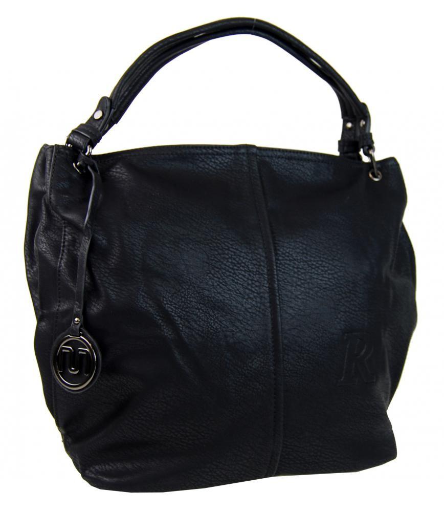 Černá kabelka na rameno Engiele