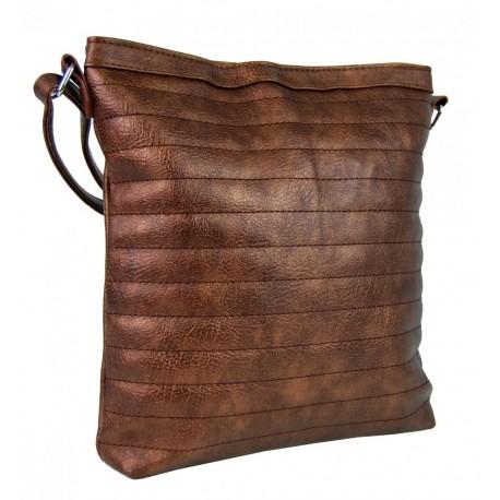 Bronzová prošívaná kabelka Chaimal