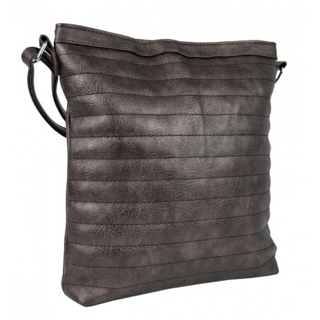 Tmavě šedá prošívaná kabelka Chaimal