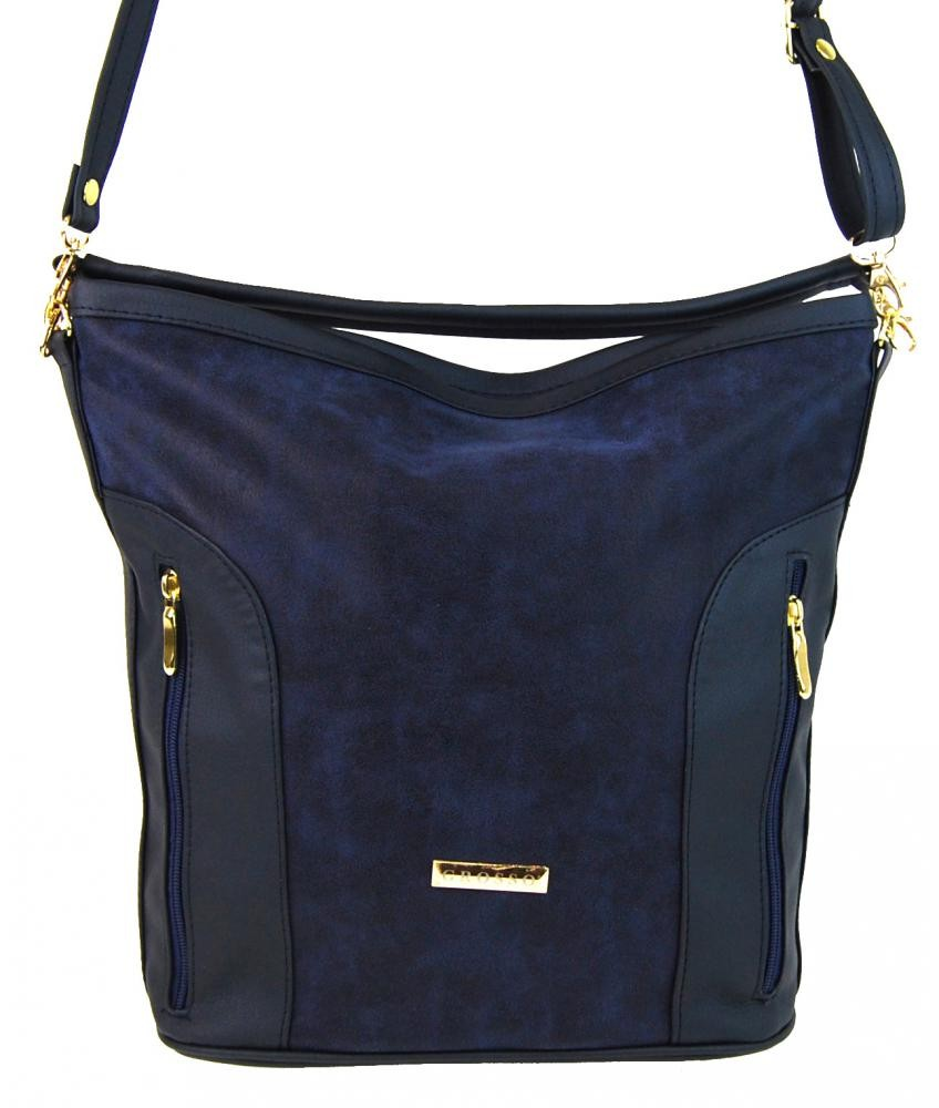 Modrá dámská crossbody kabelka Anen