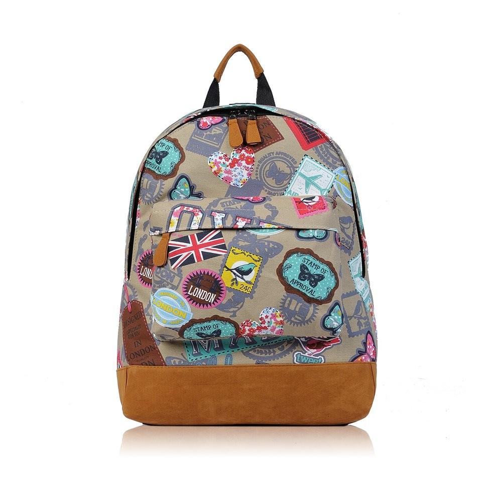 Béžový batoh Kennedy