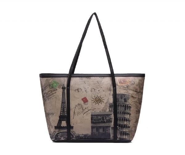 Černá kabelka Paris