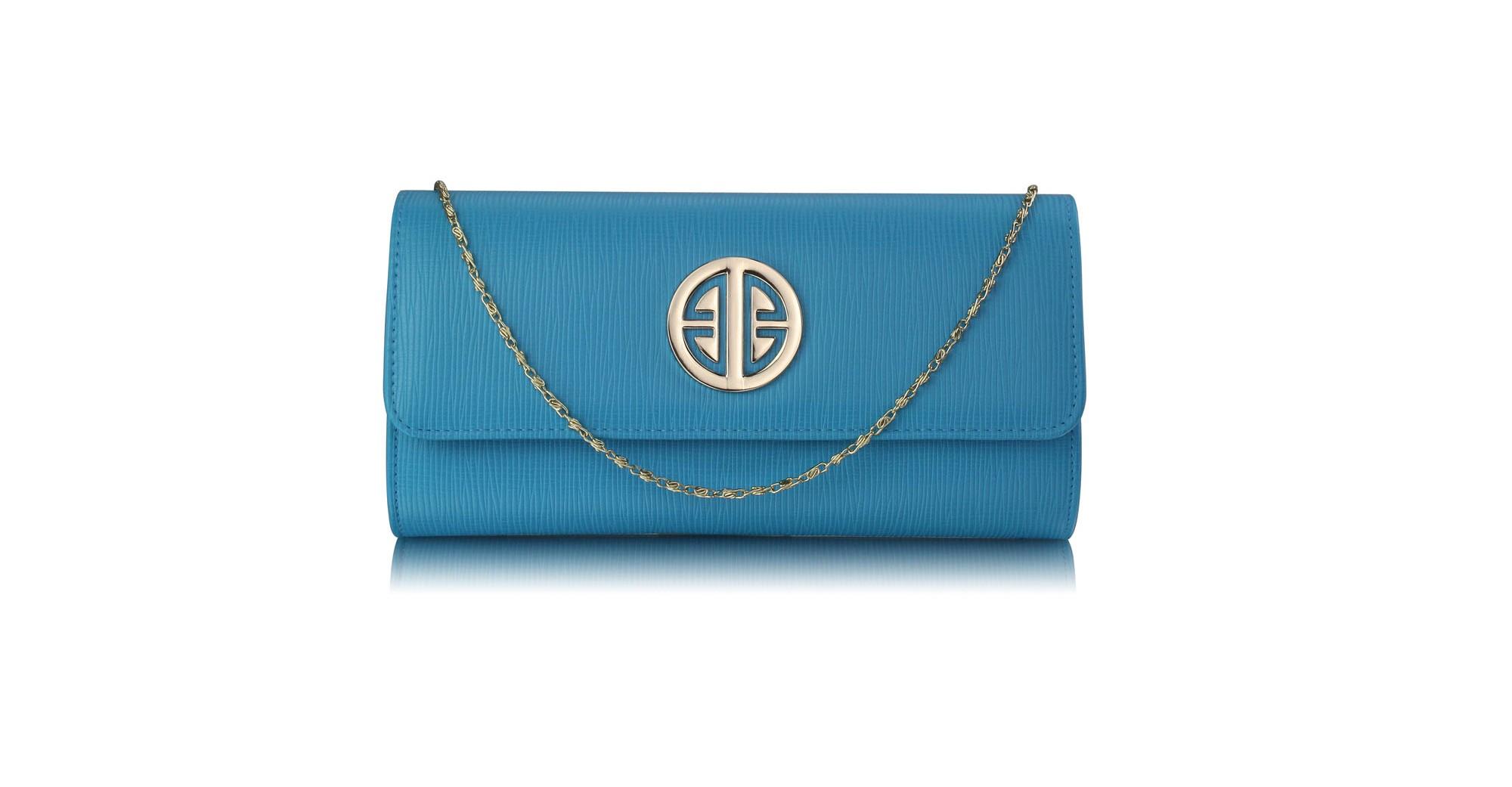 Tyrkysová módní kabelka Romanette