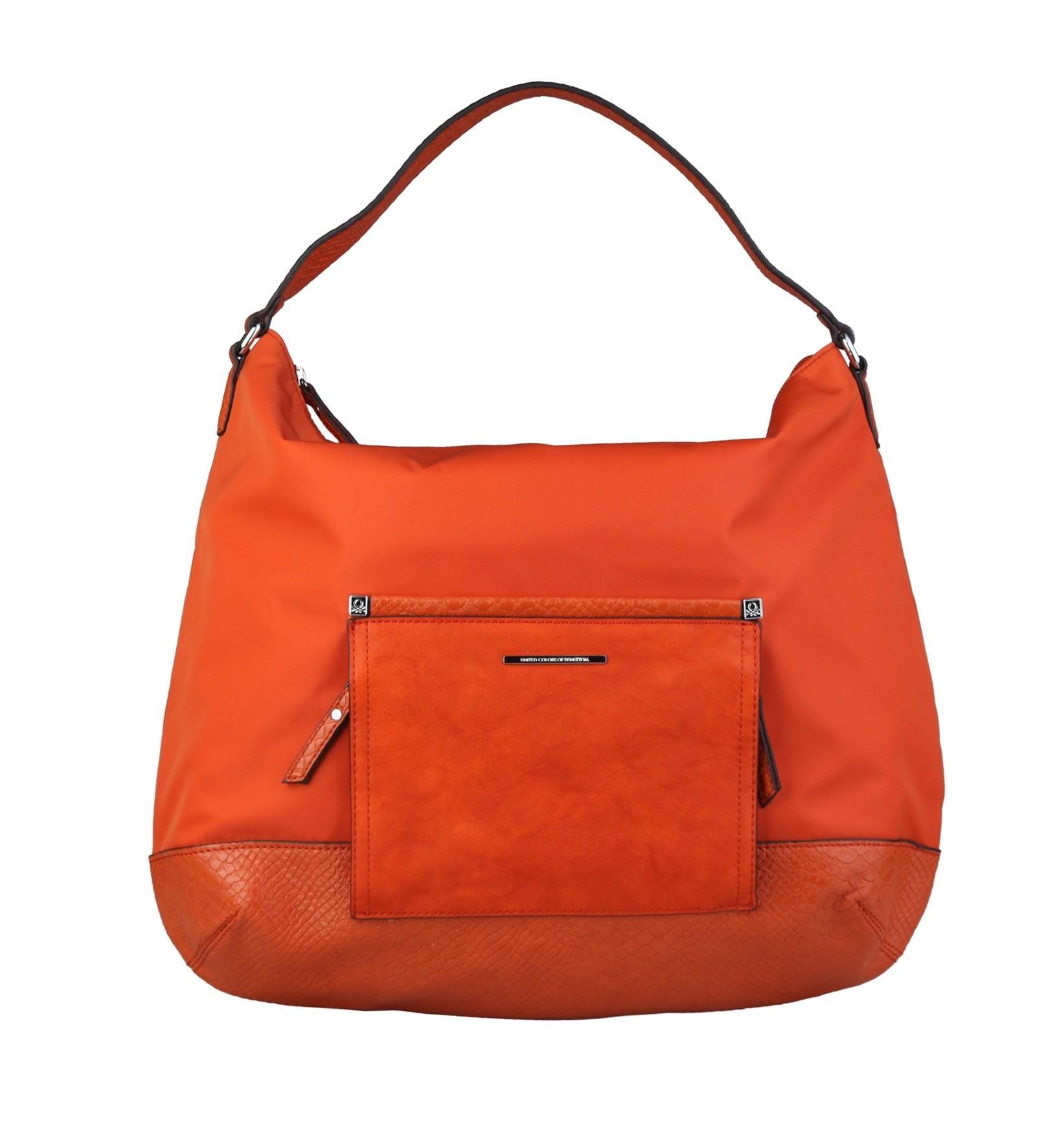 Oranžová moderní kabelka Lou
