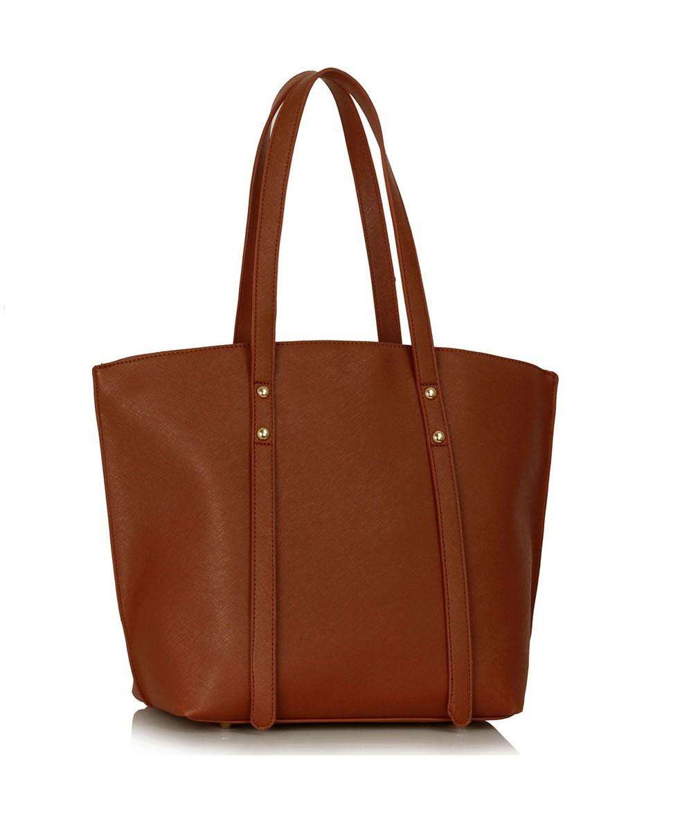 Hnědá stylová kabelka Carmel