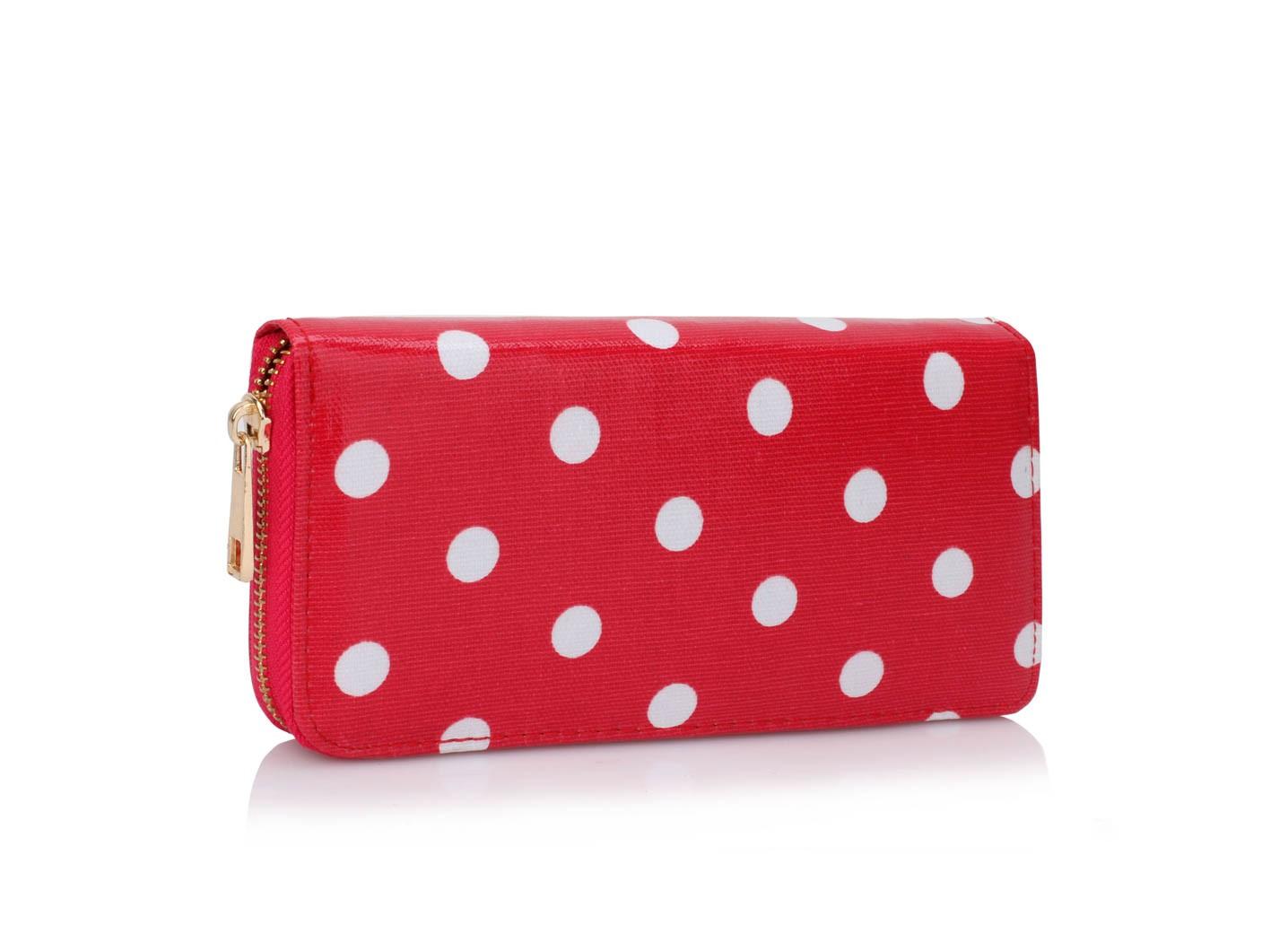 Červená dámská peněženka Meg