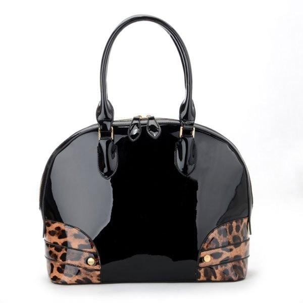 Černá dámská elegantní kabelka Lydia