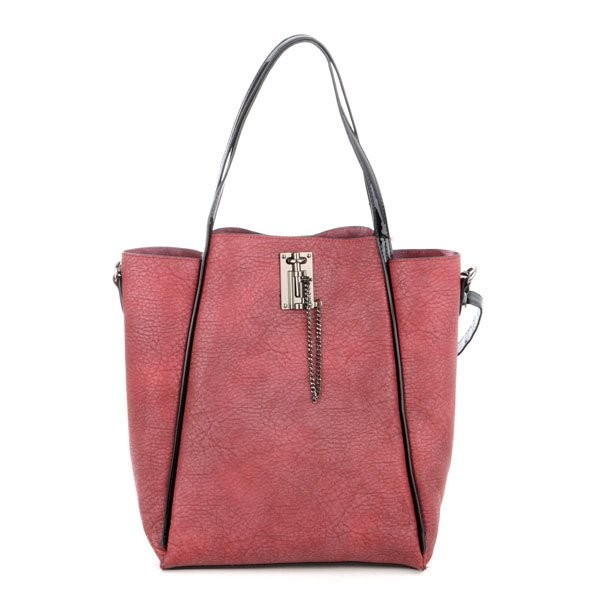 Vínová stylová luxusní kabelka Rubien