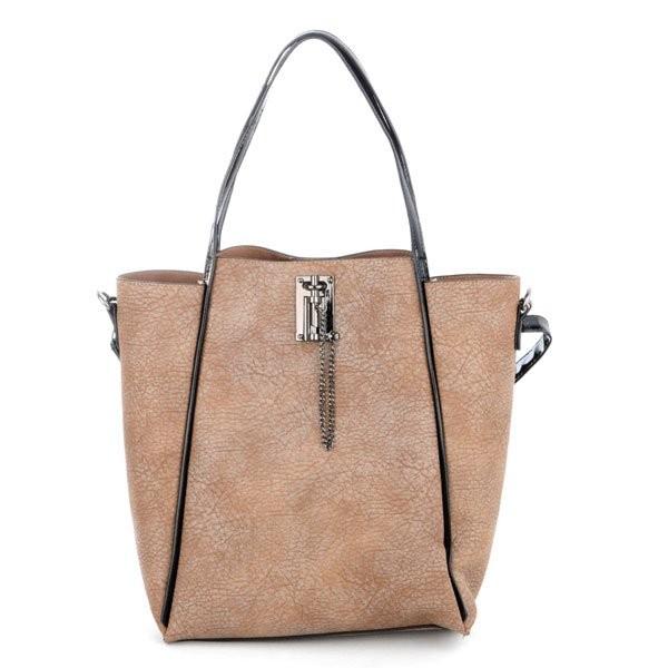 Béžová stylová luxusní kabelka Rubien