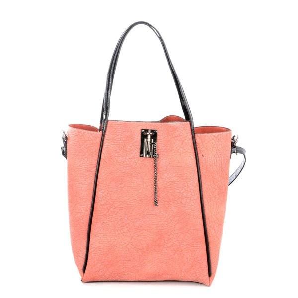 Lososová stylová luxusní kabelka Rubien