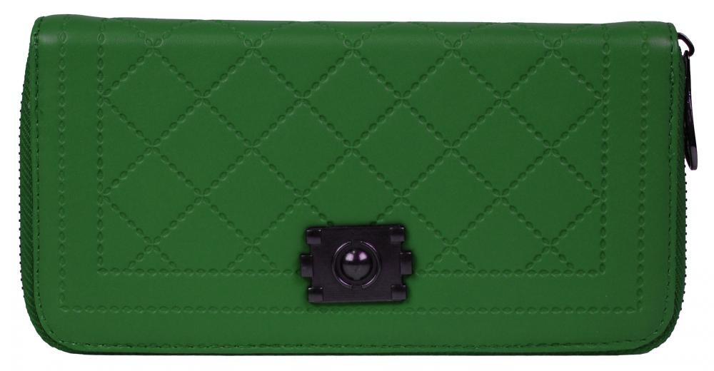 Zelená dámská peněženka Jermaine