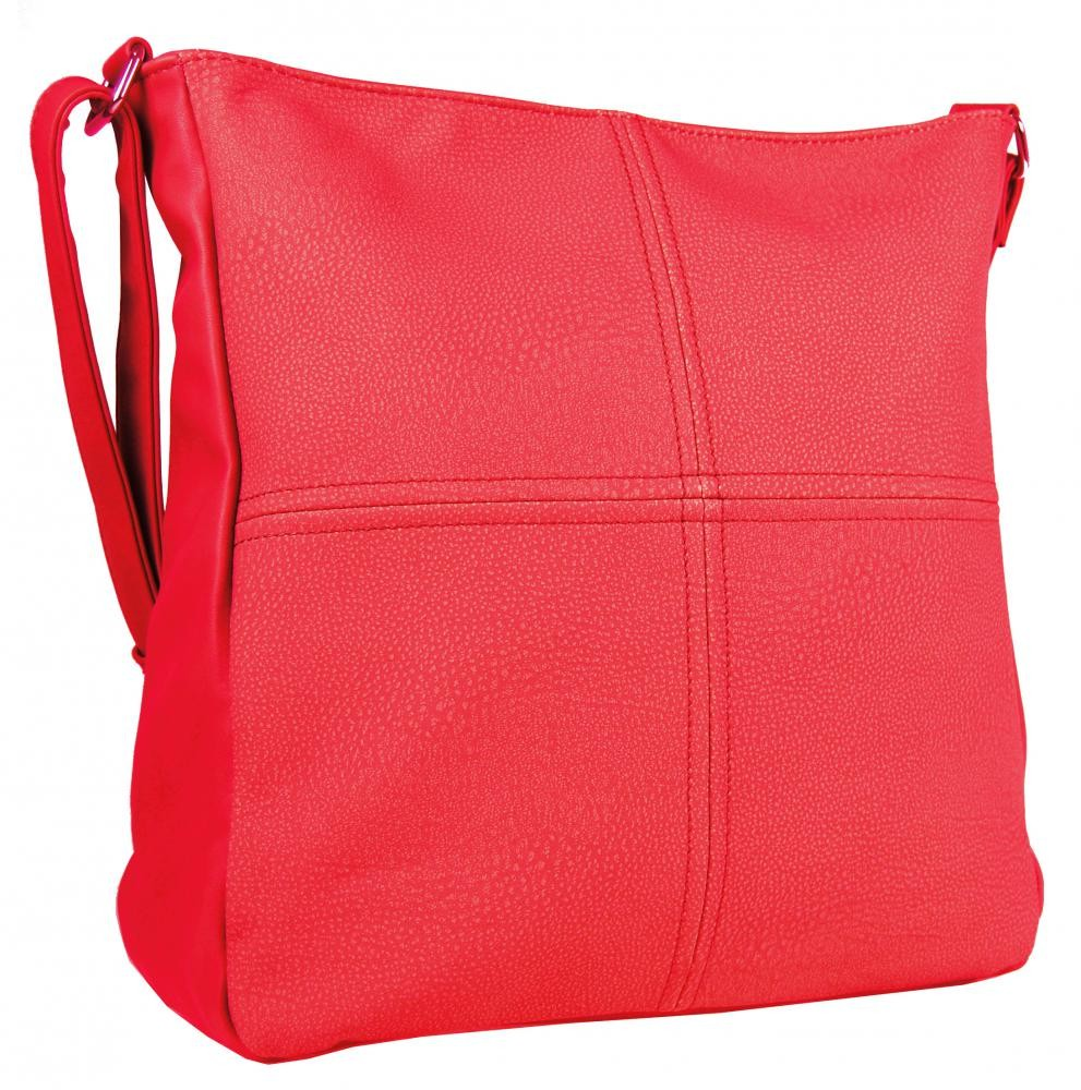 Červená crossbody kabelka Lindsay