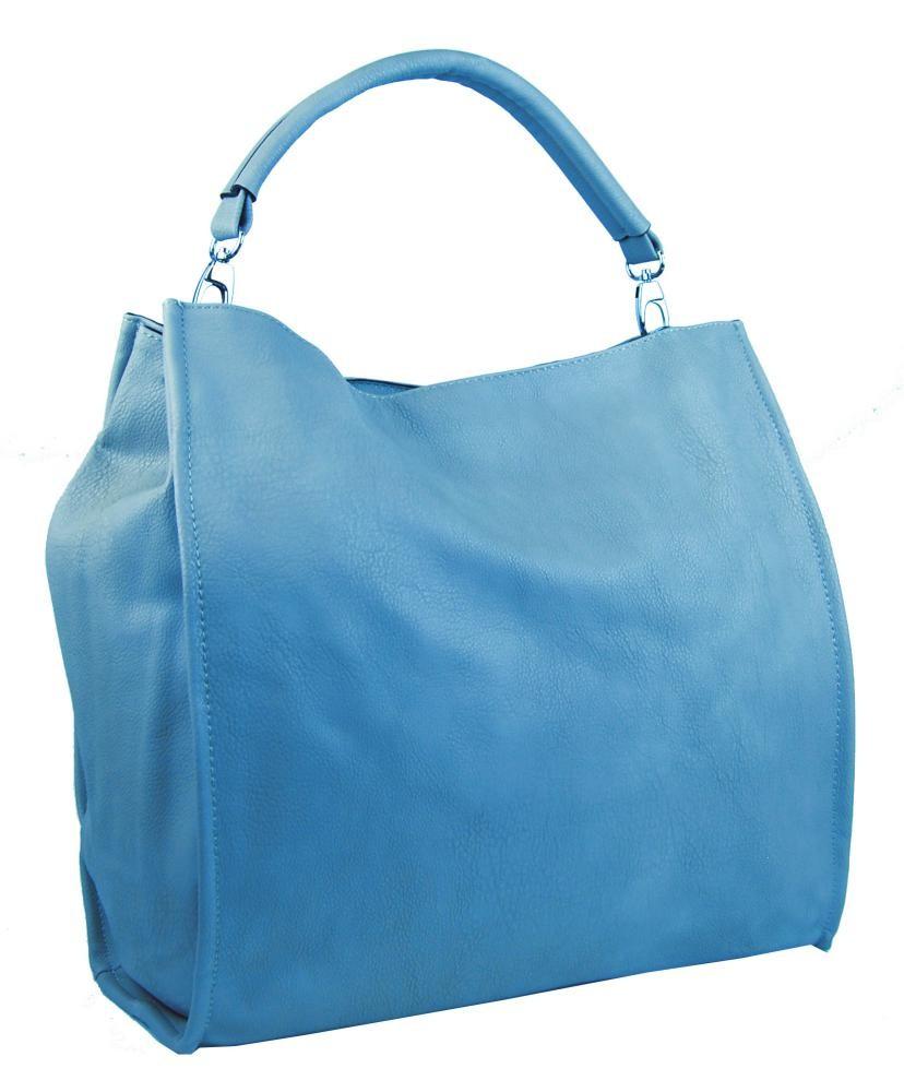 Modrá taška na rameno Taniya