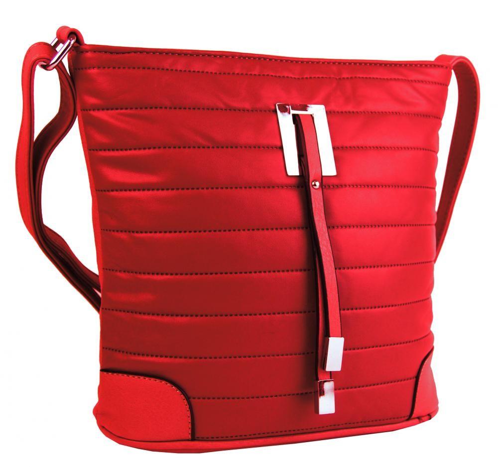 Červená crossbody kabelka Payton