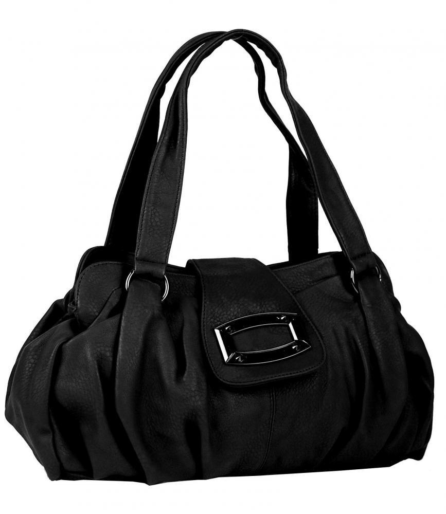 Černá dámská kabelka na rameno Maya