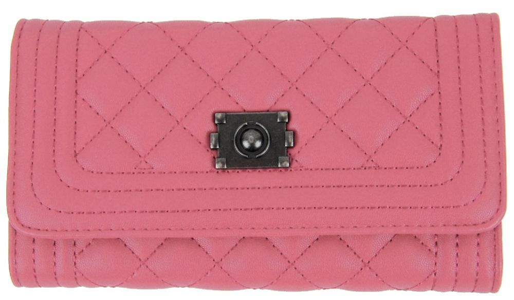 Růžová dámská peněženka Antonio