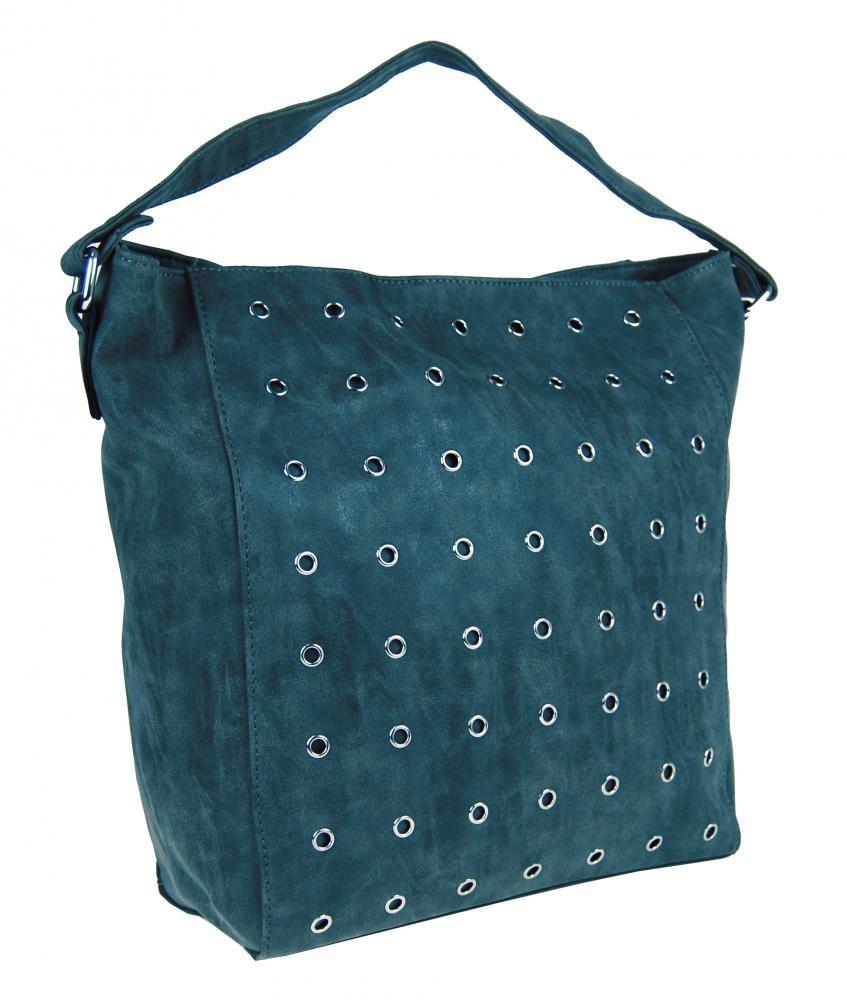 Modrá kabelka broušená na rameno Millie