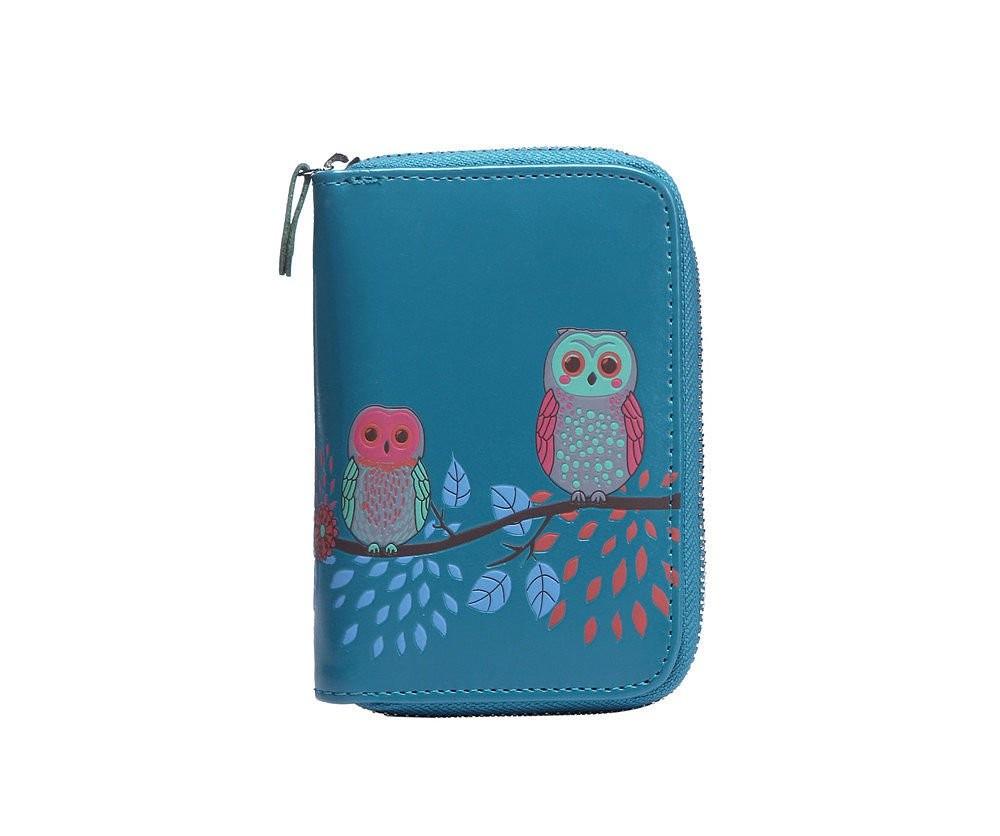 Modrá dámská peněženka Zuzana