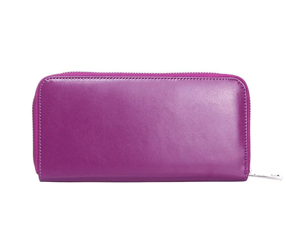 Fialová dámská peněženka Jina