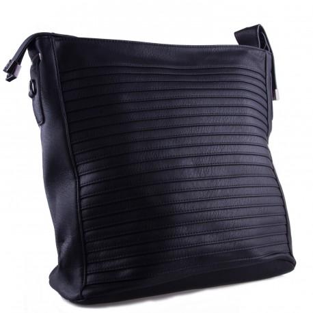 Černá velká dámská kabelka Sibien