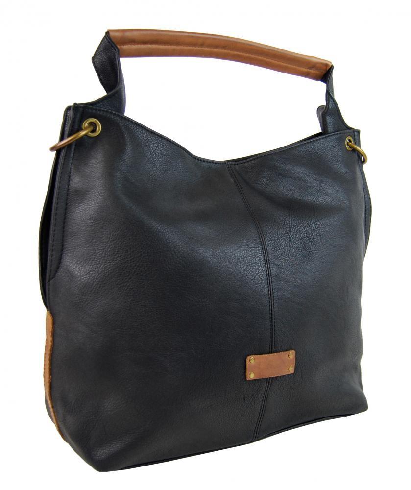 Černá kabelka přes rameno Jolie