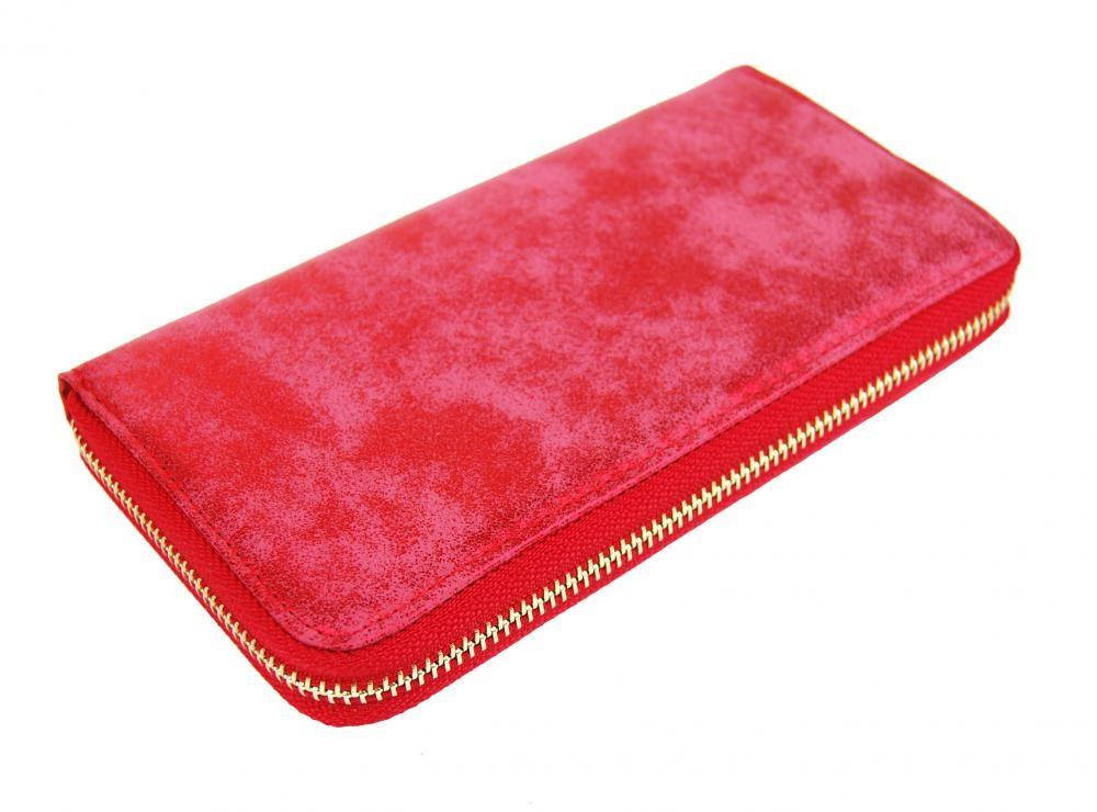 Červená dámská peněženka Gwent