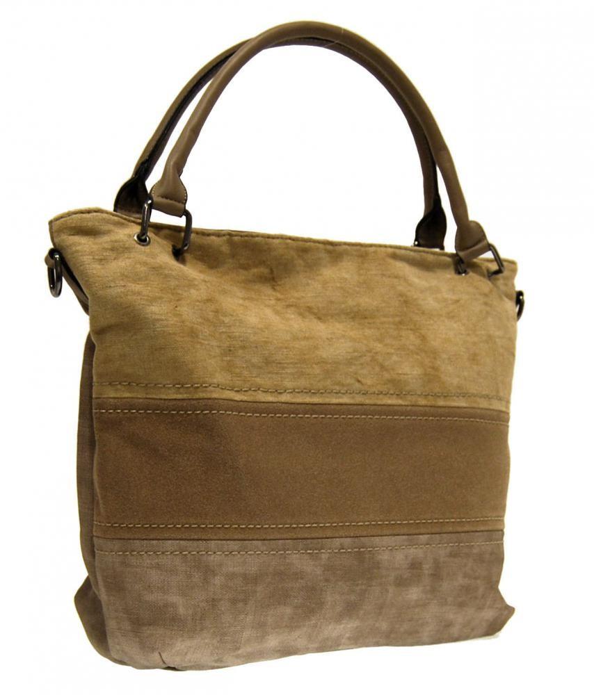 Písková hnědá dámská kabelka přes rameno Felies