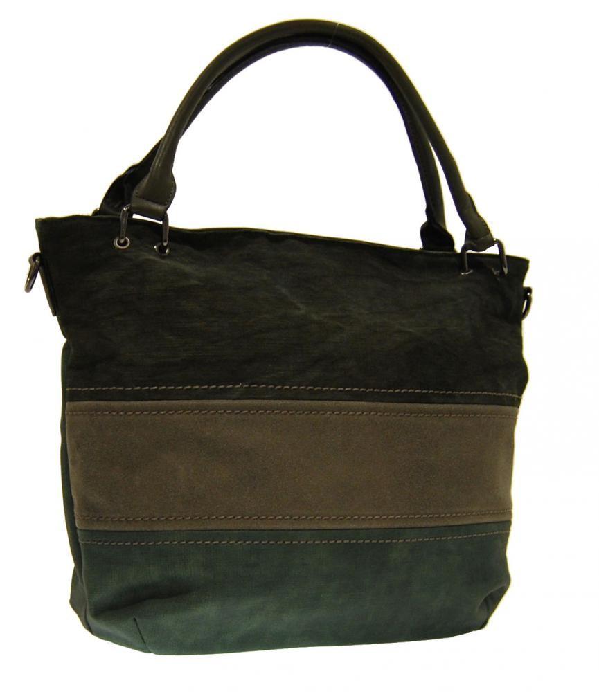 Zelená dámská kabelka přes rameno Felies
