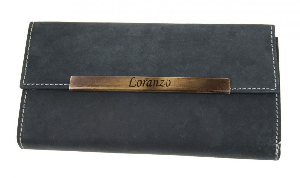 Černá dámská kožená peněženka Immone