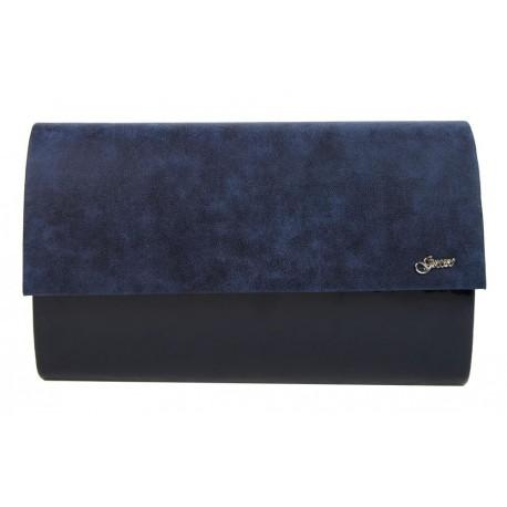 Modrá luxusní dámská listová kabelka Vrien