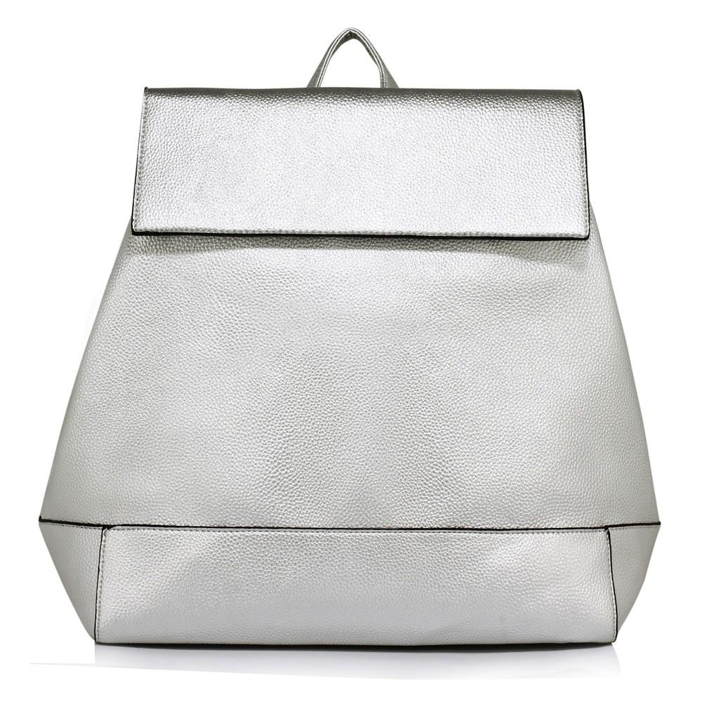 Stříbrný elegantní batoh Minsie