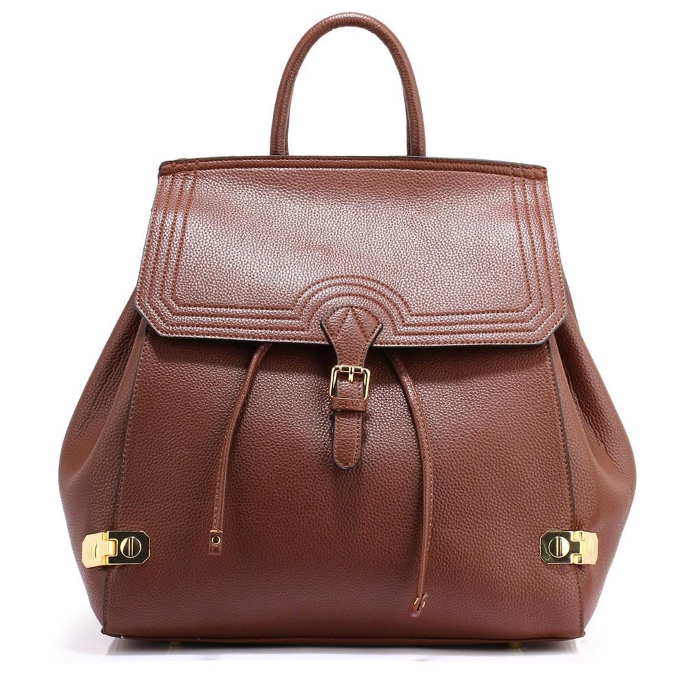 Kávově hnědý moderní batoh Vanlie