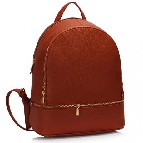 Hnědý dámský batoh
