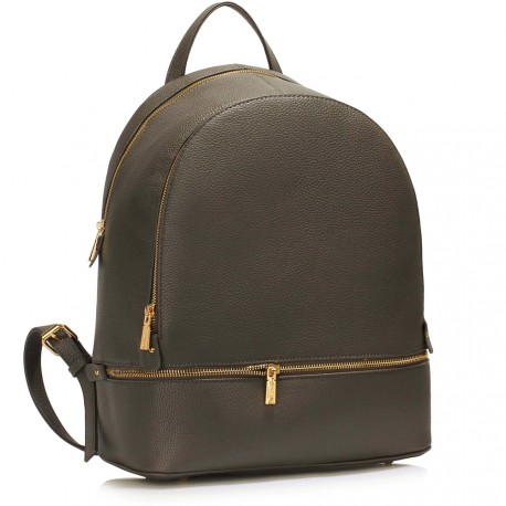 Šedý dámský batoh