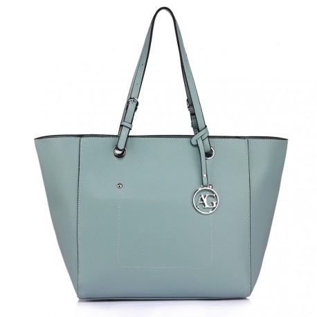 Světle modrá dámská kabelka