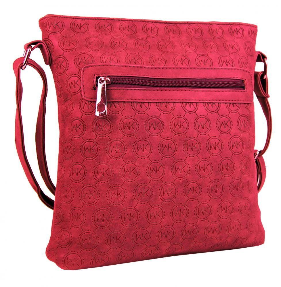 Červená crossbody kabelka Agrippine