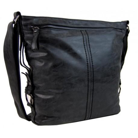 Černá crossbody kabelka Lilien
